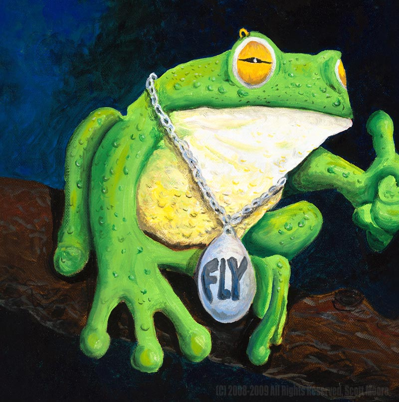 King Bling the Frog