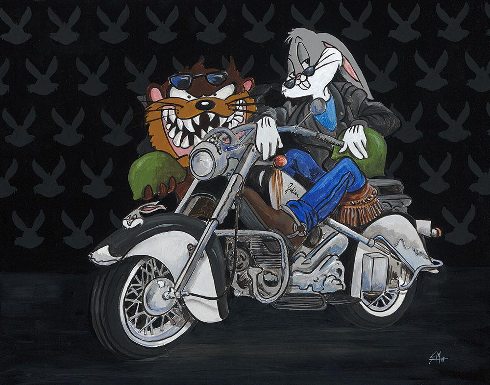 Bugs Bunny and the Tasmanian Devil