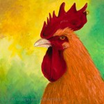 Rooster with Golden Ring