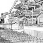 Zenbouji Temple Pen & Ink