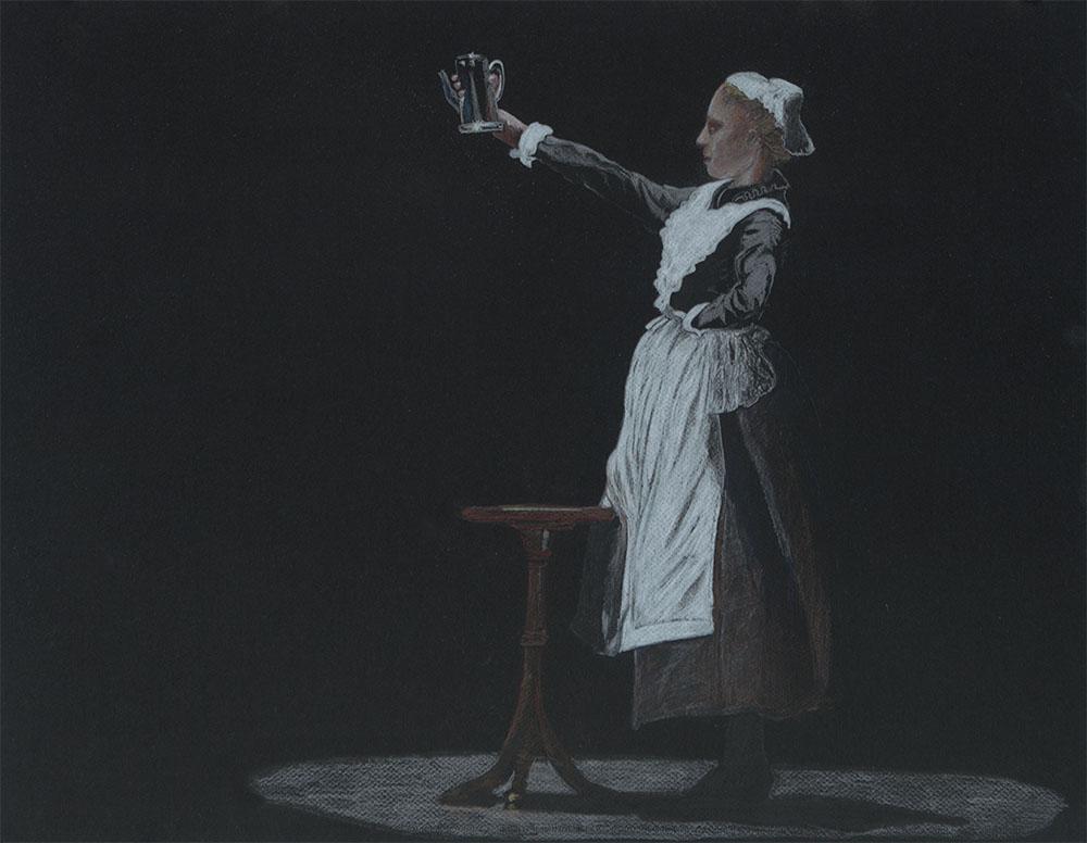 Nutcracker - the Maid