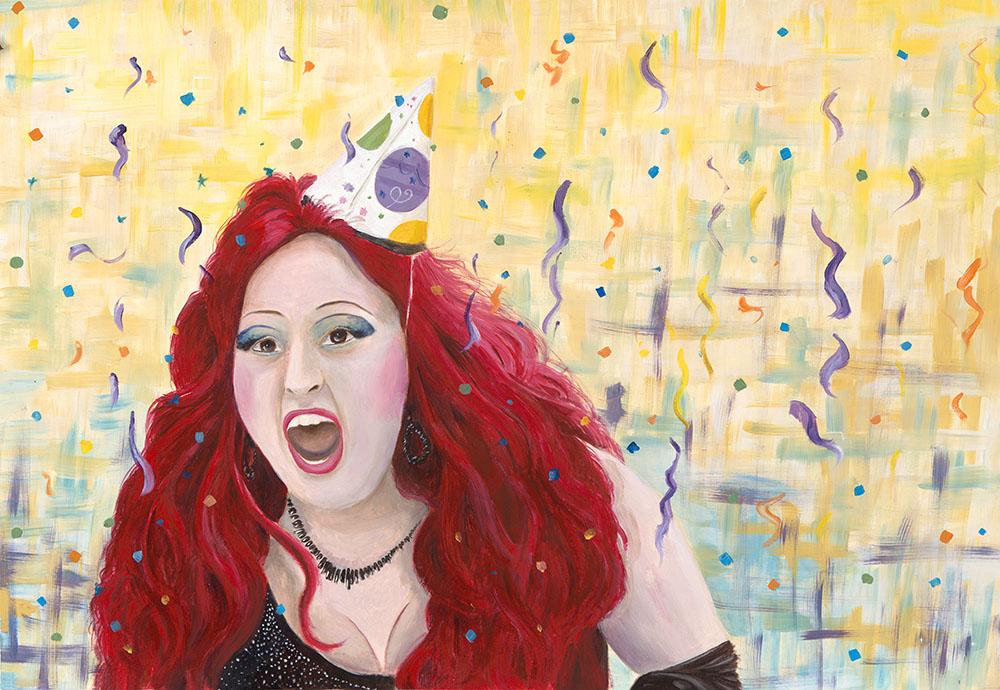 Pride Parade 1 Acrylic